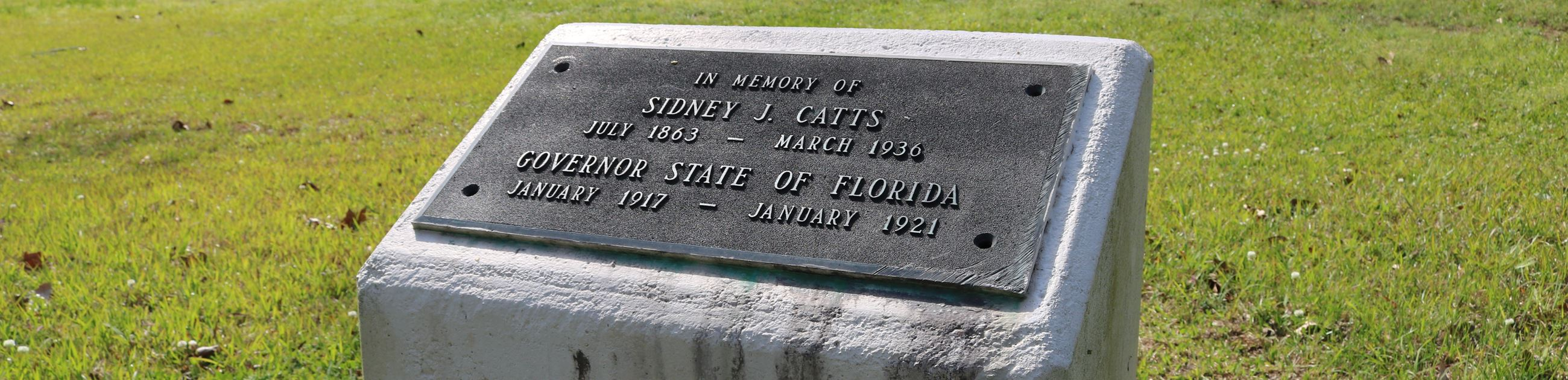 Governor Sidney J. Catts Monument