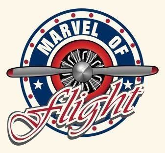 Marvel of Flight Logo with Background