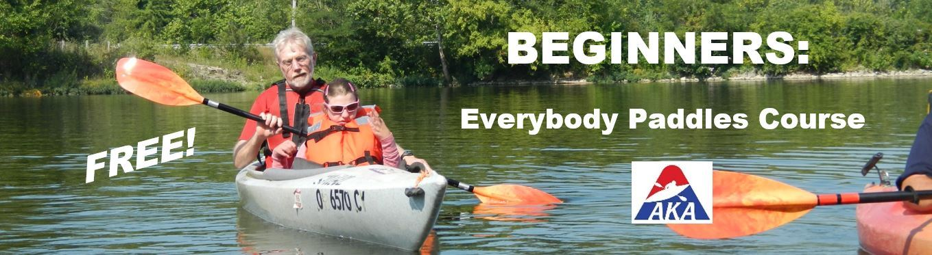 Everybody Paddles BEGINNERS Course Banner