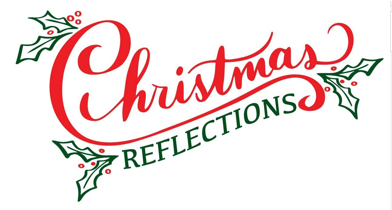 "Words ""Christmas Reflections"""