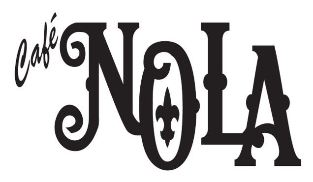 Logo which says Cafe Nola