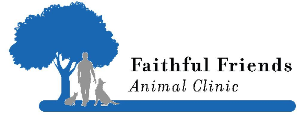 Logo which says Faithful Friends Animal Clinic
