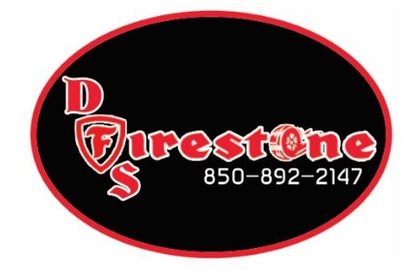 Logo which says Firestone