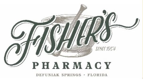 Logo which says Fishers Pharmacy