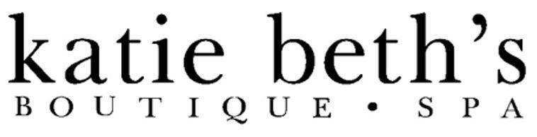 Logo which says Katie Beth's